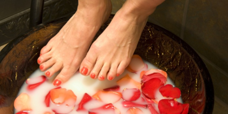 Ready for some relaxation? Get a spa pedicure in our nail salon suite!