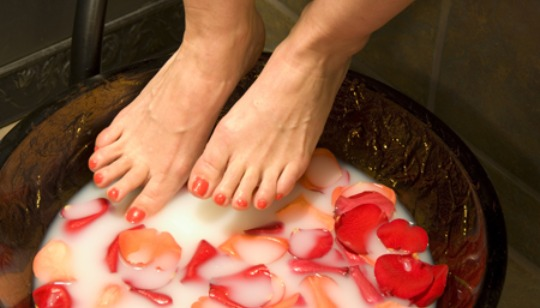 Book a Pedicure in our private nail suite today!