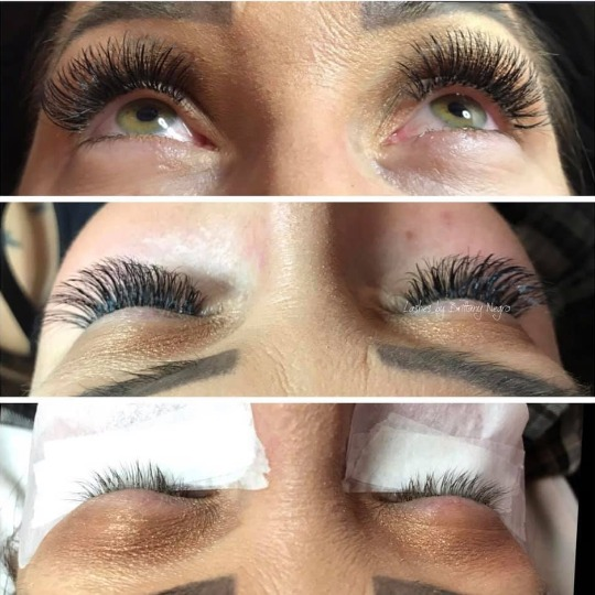 Get your eyelash extensions today in our salon!